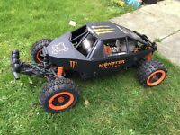 HPI Baja 5T 1/5th scale RC car with RCMAX 46cc engine!!