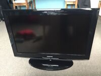 """32"""" SAMSUNG LCD TV BUILTIN FREEVIEW HDMI PORTS CAN DELIVER"""