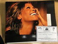 Original Whitney Houston photo with C.O.A