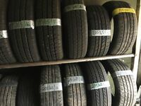 "All 16"" part worn tyres £15 each, 195 65 16, 205 45 16, 205 50 16, 235 60 16"