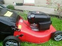 SELF PROPELLED PETROL LAWNMOWER EXCEPTIONAL EXAMPLE