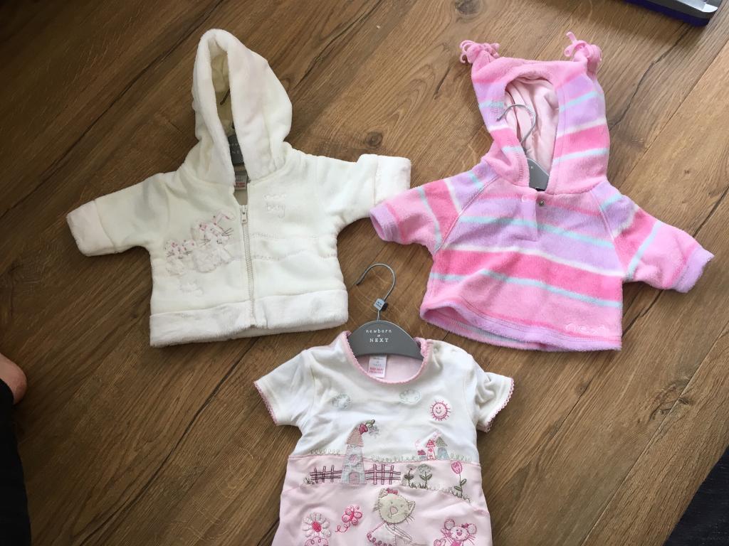 Next Newborn baby clothes