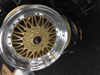 """brand new Alloy wheels 17"""" inch VW corrado golf jetta passat Volkswagen polo scirocco alloys wheel"""