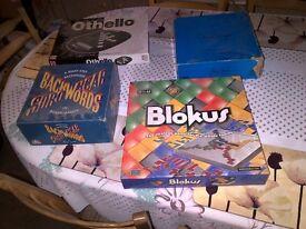 Assorted Board Games/Games For Sale