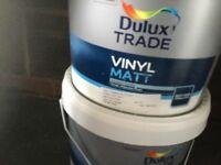 Trade Dulux emulsion 2 x 10 litres 1 x 5 litres