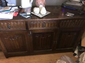 Cabinet Brown with Drawers