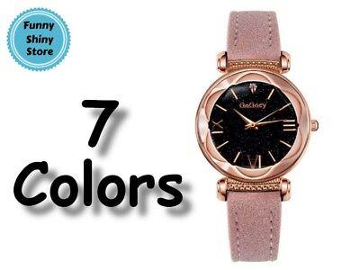 Women Luxury Watch Round Quartz Flasher Stainless Stylish Buckle High Quality  (Teen Flashers)