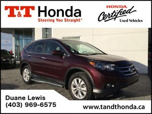 2014 Honda CR-V Touring *Local Trade, NAVI*