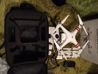 DJI Phantom 2 Vision plus - with Gimbal Camera Including backpack carry case & extra battery...£600