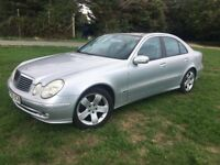 MERCEDES BENZ E280 CDI AVANTGARDE WITH 57000 MILES, AUTOMATIC, 2 FORMER KEEPERS, RECENTLY SERVICED
