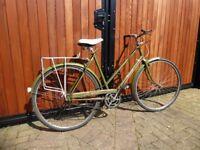 Ready for Eroica, Vintage Hercules Balmoral 3sp ladies bike.