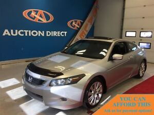 2010 Honda Accord EX-L V6 ONLY 56743KM! LEATHER! FINANCE NOW!