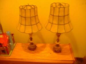 Vintage Lamps, Swag wrought iron lamp London Ontario image 1