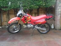 shineray xy125gy ,125 cc 125cc , fully serviced, 10 months mot, very low mileage