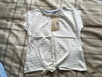 6-7 years brand new girls top