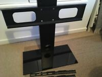 "Mountright TV stand - pedestal base for TVs 32"" to 50"""