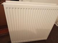 Double panel convector radiators x 2 used