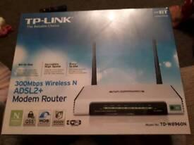 TP-Link TD-W8960N Wireless ADSL2+ Modem Router