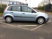 2007 FORD FIESTA 1.4TDCI STYLE DIESEL ONLY 65000m HISTORY PART EXCHANGE WELCOME