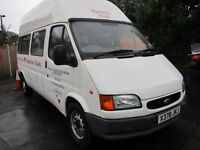 2000 X FORD TRANSIT 2.0 190 LWB MINIBUS 13 SEATER WHEELCHAIR RAMP 48K 1 OWNER COUNCIL OWNED PX SWAPS