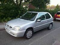 1.5d Citroën Saxo diesel 13 months MOT cambelt changed Service history great condition cheap to run