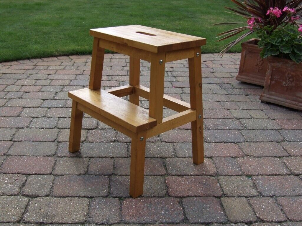 Kitchen Step Stool Solid Wood In Chelmsford Es Gumtree