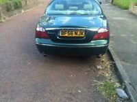 S type jag 2.7td se 56 plate may p/x
