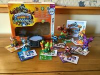 Nintendo 3DS Skylanders Giants starter set bundle extras