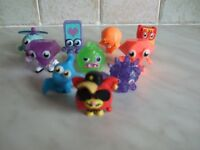 10 Moshi Monsters - Various Characters. Ultra-Rare & Special Editions. £7.