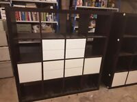 Expedit storage unit shelving 4x4