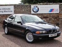 BMW E39 523i SE Saloon, Manual, 1999 / T Reg, 88k Miles, MOT: May 2017 (No Advisories)