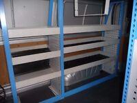 steel van racking