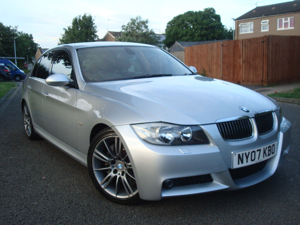 BMW 335D M-Sport Automatic 4dr,2 FORMER KEEPER FROM NEW,SPORT BLACK LEATHER SEATS,109.000 Miles