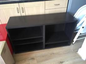 Black storage unit