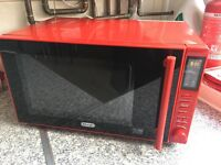 De'Longhi Microwave - P90D23EL-B1A 23L Solo Microwave - Red Costs £140 NEW Collection this weekend