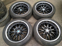 R18 Rondell Alloy wheels with PIRELLI Tyres BMW 5x120