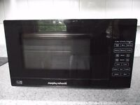 Morphy Richards D80D 20L 800W Microwave With Grill - Black