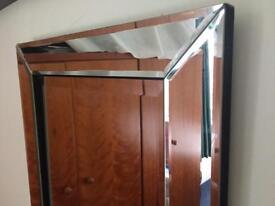 Rectangle dress mirror