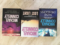 collection of Michael Connelly books
