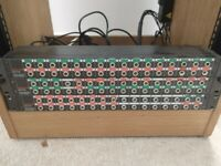 Rackmount unit with patch bay