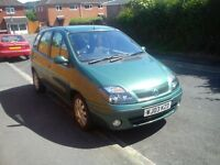 Renault megane Scenic 1.6 2003 automatic with 10 months MOT