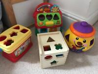 Baby educational toys shape sorters
