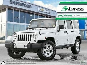 2014 Jeep Wrangler Unlimited Sahara Leather/NAV & PST PAID!!