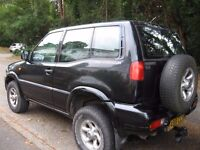 1998 FORD MAVERICK 4X4 DIESEL AUTO TAXED AND CAR RECOVERY DOLLY CAN SEPERATE PX