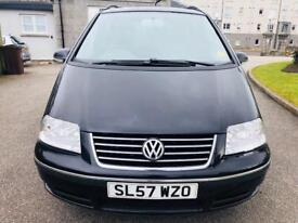 VW Sharan 2.L TDI Sport Diesel 2007 .....MOT February 2019..No Advisory..7 Seater..1 Owner £2995