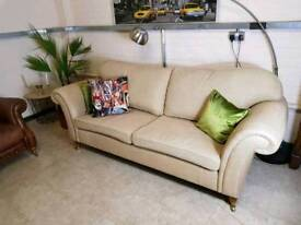 Laura Ashley Mortimer large 2 seater sofa in Dalton Natural RRP £1246