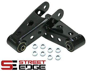 "Street Edge 07-18 Chevy Silverado, Sierra 2""-3"" Rear Lowering Drop Shackle Kit"
