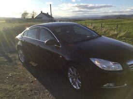 2009 Vauxhall insignia 1.8i exclusiv nav, only 73,000 mls 1 yrs mot