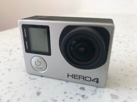 GoPro HERO4 SILVER Edition Action Camera Camcorder WITH 32GB Memory Stick