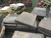 USED CONCRETE FLAGS
